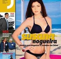 Susana Nogueira na revista J