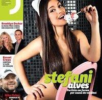 Stefani Alves na Revista J