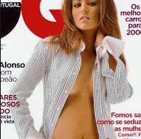Joana Duarte na GQ de Novembro 2005