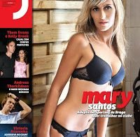 Mary Santos na Revista J 317