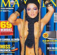 Raquel Henriques na Maxmen Março 2006