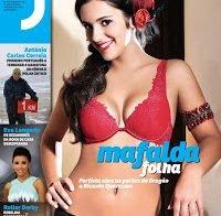 Mafalda Folha na Revista J