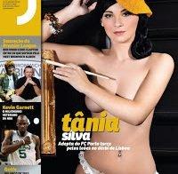 Tania Silva na Revista J