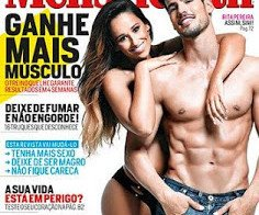 Rita Pereira despida na Men's Health