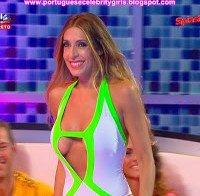 Cláudia Jacques em forma no Splash