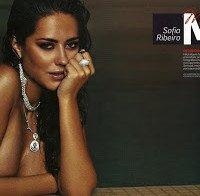 Sofia Ribeiro nua na Men's Health