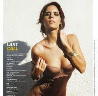 Olivia Ortiz na capa da Maxim de Outubro 2013