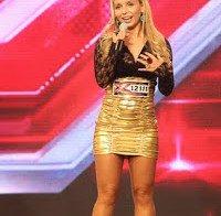 Luciana Abreu abusa no Factor X