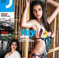 Tay Silva despida na Revista J