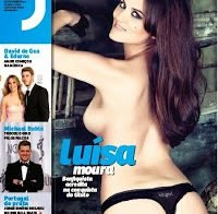 Luísa Moura posa para a Revista J