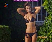 Mamas e rabo de Rita Pereira (bikini em novela TVI)