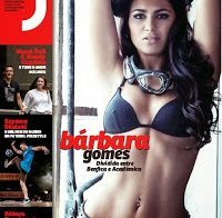 Bárbara Gomes despida na Revista J 370