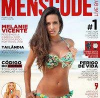 Melanie Vicente (Miss Portugal 2012) despida em nova revista masculina