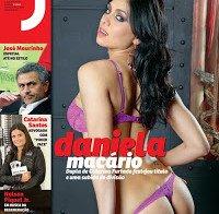 Fotos de Daniela Macário na revista J