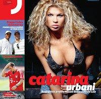 Fotos de Catarina Urbani na Revista J 206 de Agosto