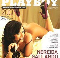 As fotos da Nereida na Playboy de Fevereiro