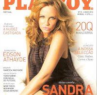 Fotos de Sandra Botelho na Playboy de Junho