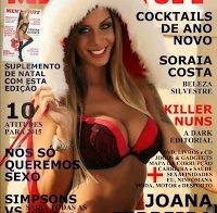 Joana Ferreira despida na Men's Stuff (lingerie)