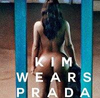 Kim Kardashian nua (Love Magazine)