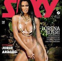 Lorena Bueri nua na Revista Sexy