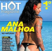 Ana Malhoa na Hot Magazine