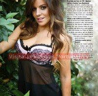 Filipa Baptista despida na Revista J 383