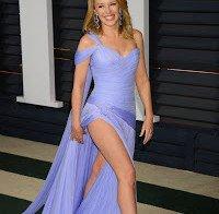 As longas pernas de Kylie Minogue