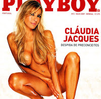 Cláudia Jacques nua (Playboy Portugal)