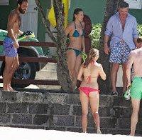 O corpo de Pippa Middleton (biquini na praia)