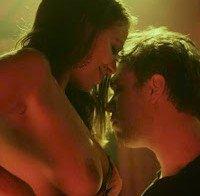As mamas de Vanessa Casa dos Segredos (topless em filme)