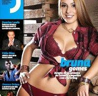 Bruna Gomes na revista J 380