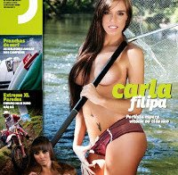 Carla Filipa despida (topless na Revista J 373)