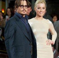 Johnny Depp casou-se com Amber Heard em cerimónia surpresa