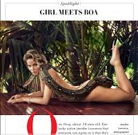 Jennifer Lawrence nua na Vanity Fair (Março 2015)