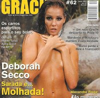Deborah Secco com pouca roupa em revista