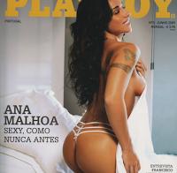 Ana Malhoa nua (Playboy)