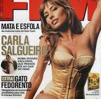 Carla Salgueiro na FHM