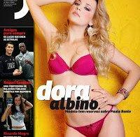 Dora Albino sem roupa (Revista J 212)