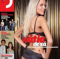 Kátia de Sá de lingerie (despida na Revista J 223)