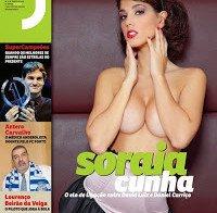 Mamas de Soraia Cunha (topless na Revista J)