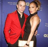 Jennifer Lopez esteve com Casper Smart este tempo todo