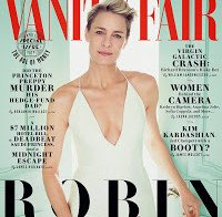 Robin Wright na capa da Vanity Fair, fala sobre Sean Penn