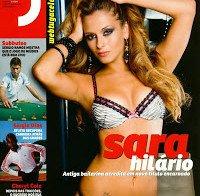 Sara Hilário despida (Revista J 208)