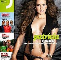 Patrícia Couto nua (Revista J 296)