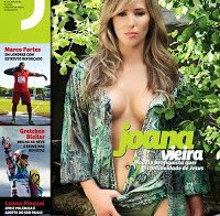 As mamas de Joana Vieira topless (Revista J 293)