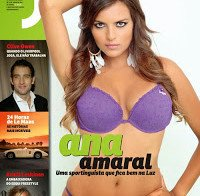 Ana Amaral despida (lingerie na Revista J 249)