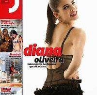Diana Oliveira lingerie e topless (Revista J 255)