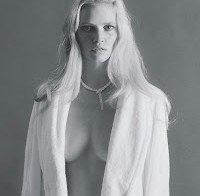 O corpo incrível de Lara Stone