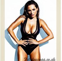 Kelly Brook fabulosa na Fabulous Magazine