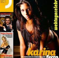 Karina Ferro despida na Revista J 228